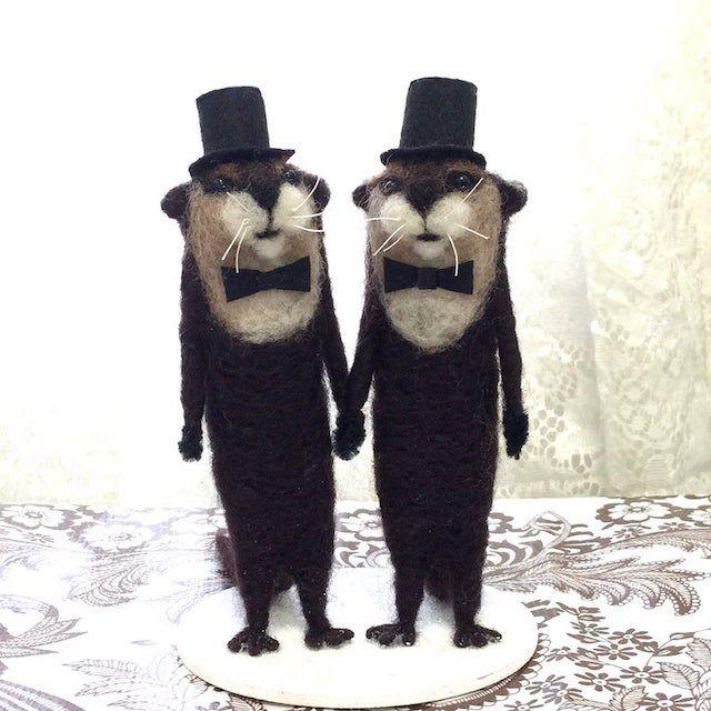 Same-Sex Custom Wedding Cake Topper
