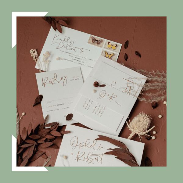 zodiac wedding invitations