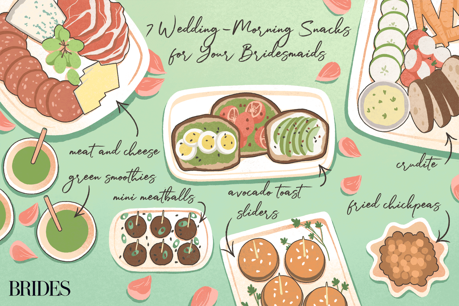 7 Wedding-Morning Snacks for Your Bridesmaids