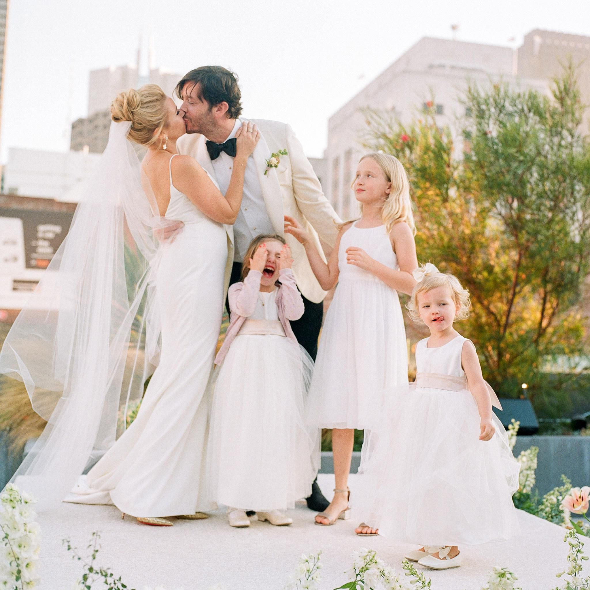 A Romantic Rooftop Wedding At The Battery In San Francisco