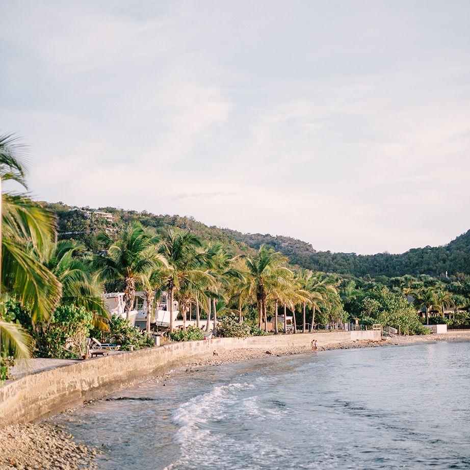 Beachfront shot