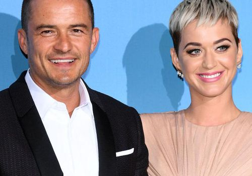 Orlando Bloom and Katy Perry attend the Gala for the Global Ocean in Monte-Carlo, Monaco.