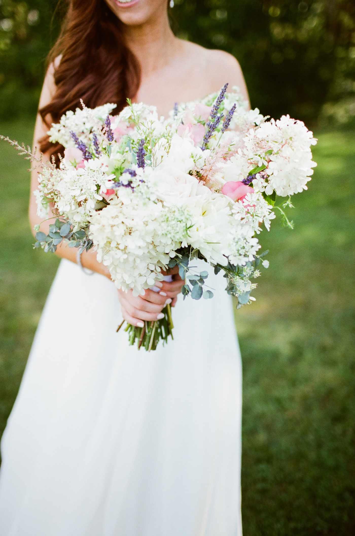 Hydrangea Wedding Bouquet Ideas