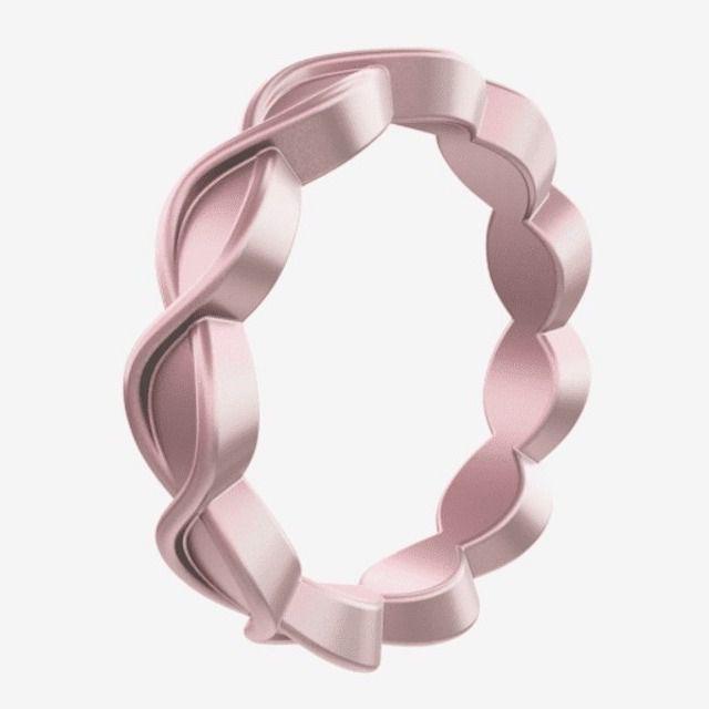 Qalo Women's Eternity Silicone Ring