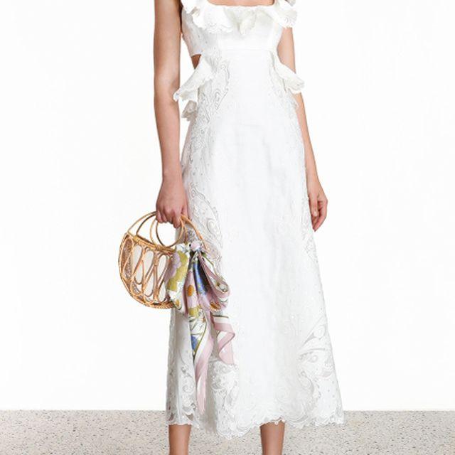 Zimmermann Super Eight Embroidered Dress $1,395, was $1,995