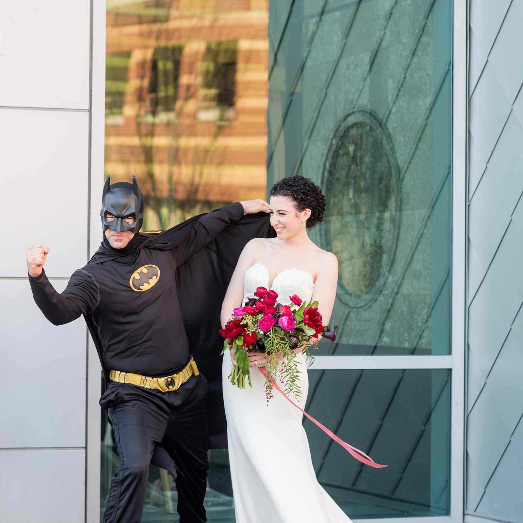 bride with batman