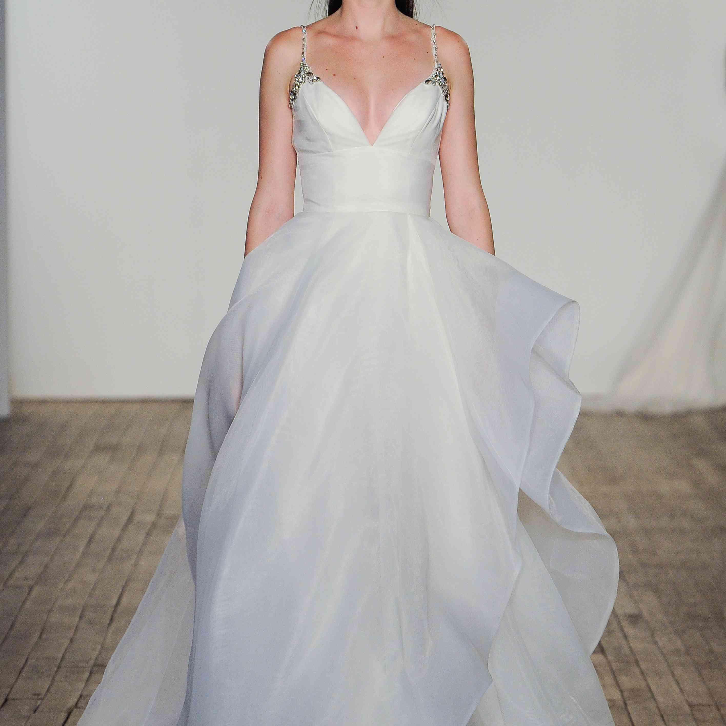 Halsey Blush by Hayley Paige Wedding Dress