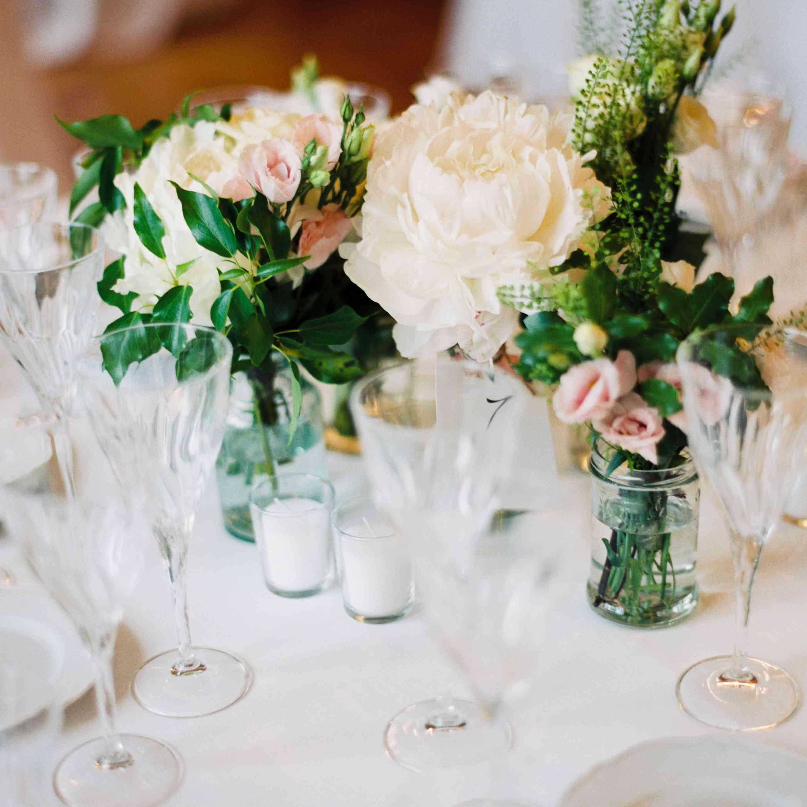 Northern Italian Wedding, Center Pieces