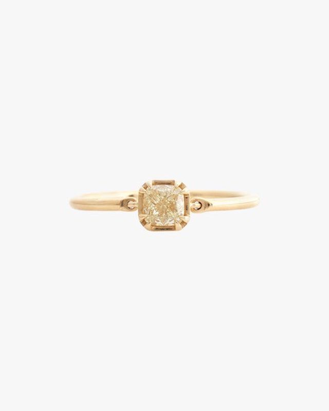 Yi Collection Canary Yellow Diamond Ring