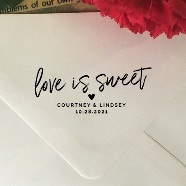 HelloLoveCo Love is Sweet Stamp