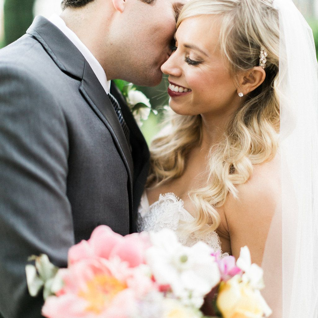 ed35da6b951e2 The 60 Prettiest Bridal Hairstyles From Real Weddings
