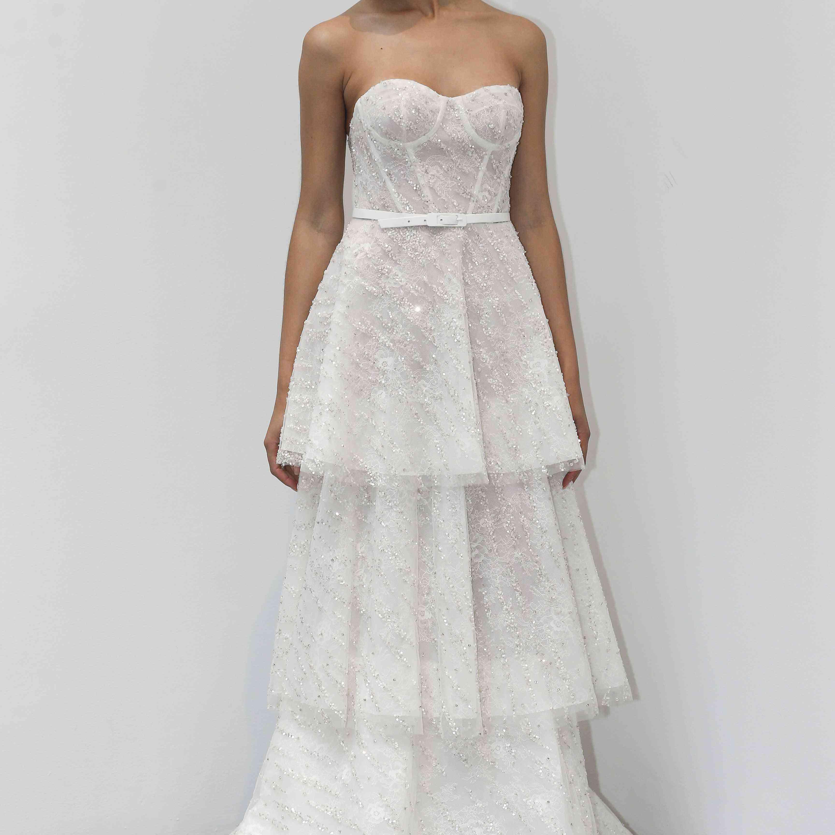 Lily Rose strapless wedding dress