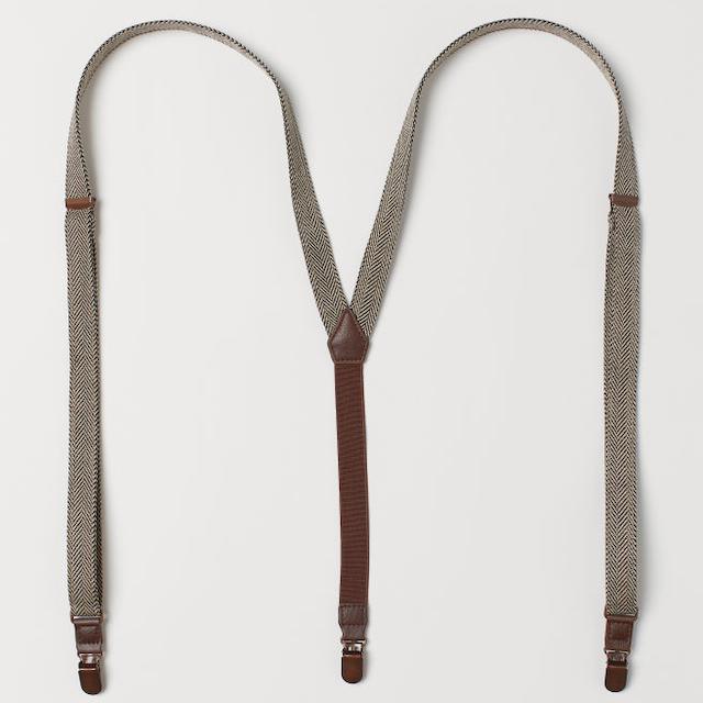 herringbone suspenders