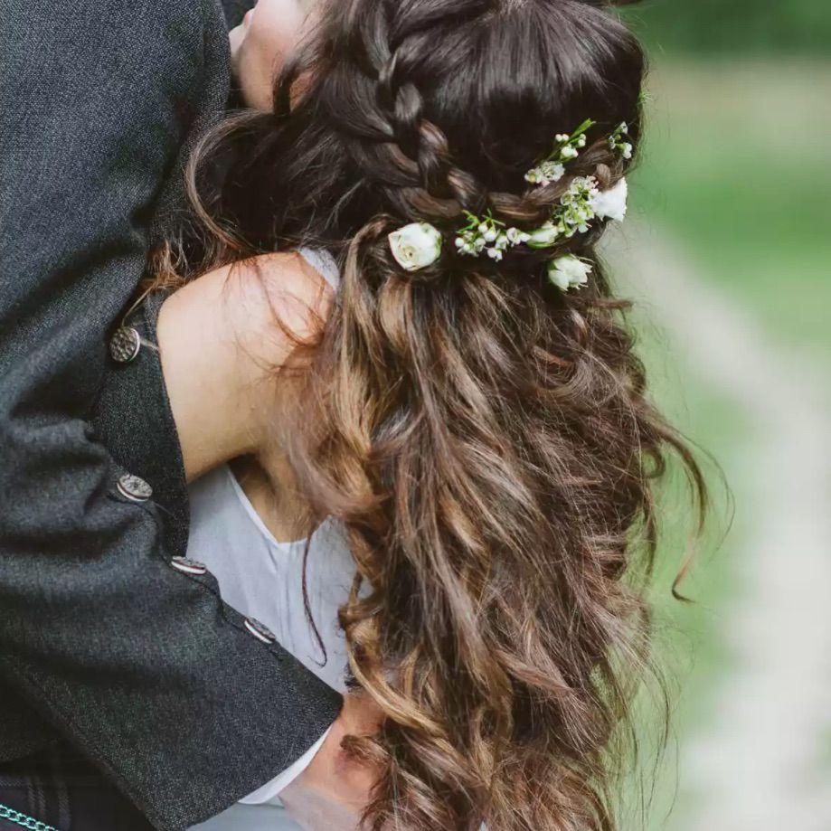 41 Gorgeous Half Up Half Down Wedding Hairstyles