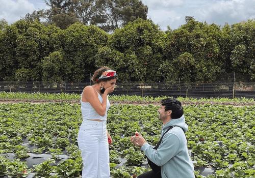Ryan Bergara and Marielle Scott engagement