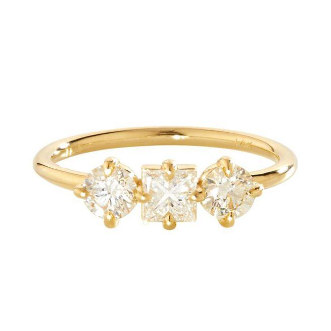 Ila Trilogy Diamond Ring