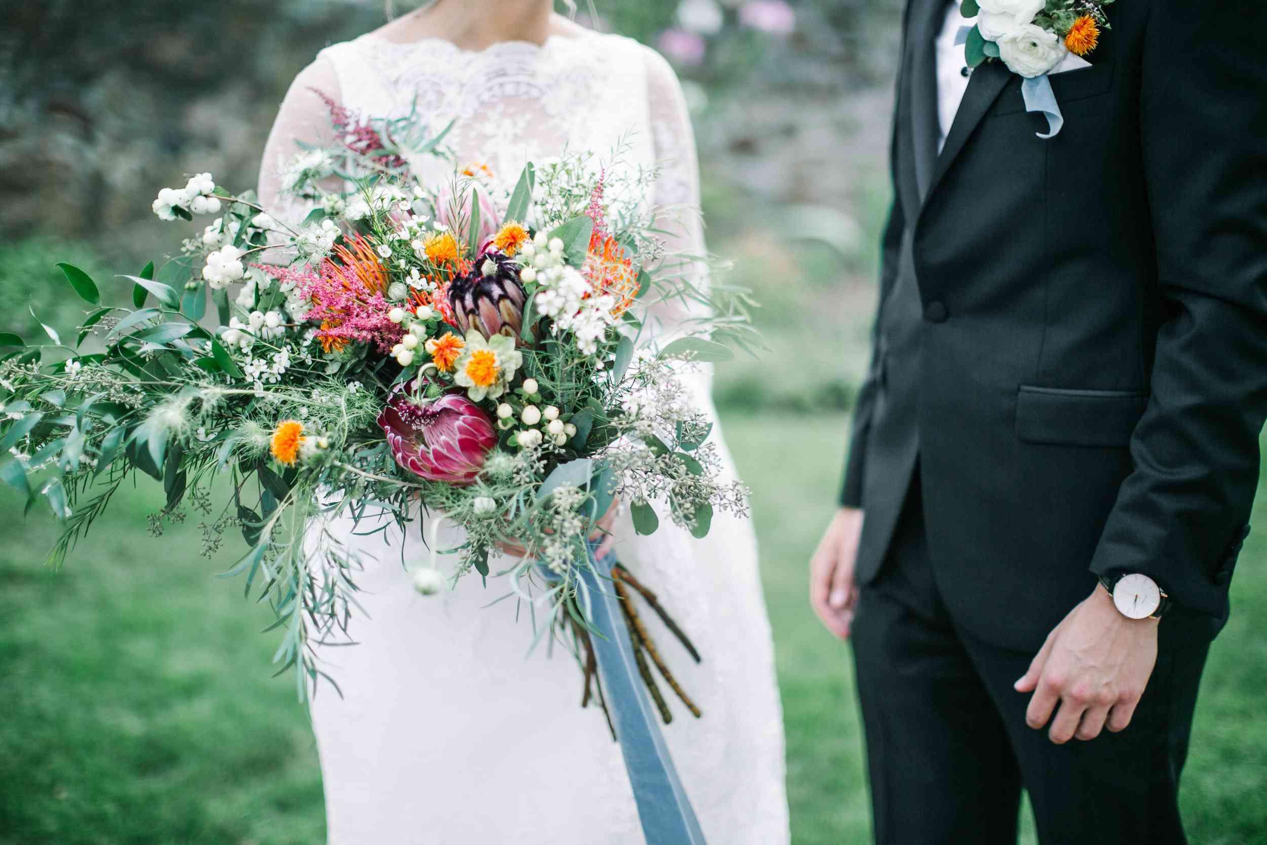 Long stem colorful bouquet