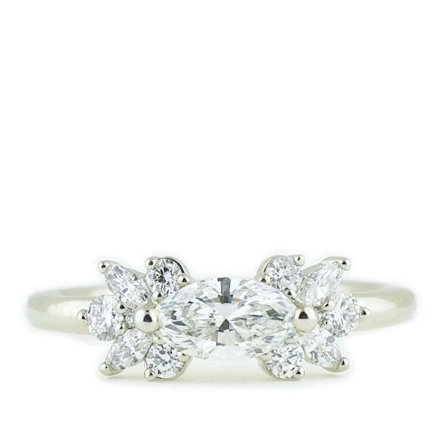 Abby Sparks Marquise Diamond Ring