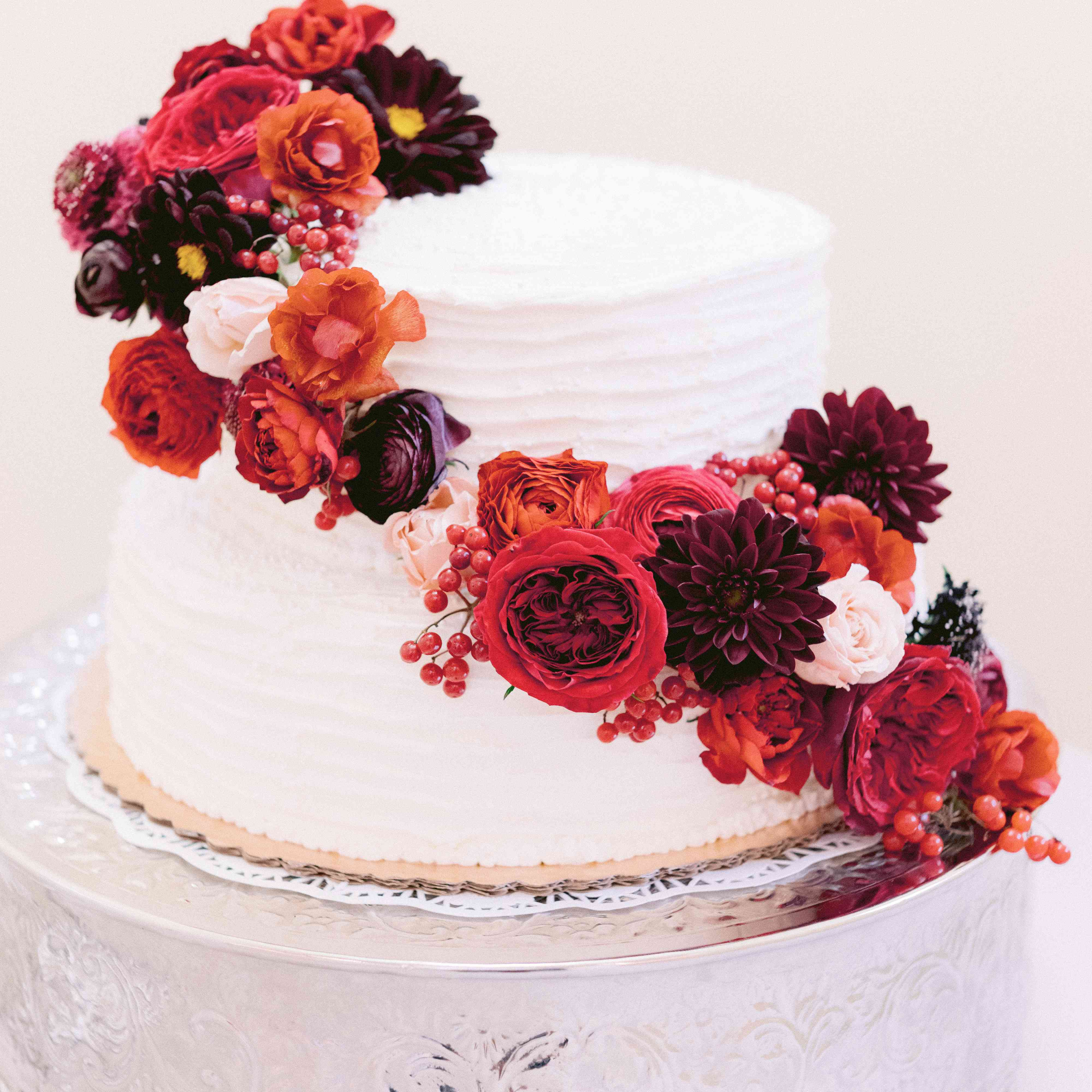 85 Of The Prettiest Floral Wedding Cakes,Bathroom Design Ideas 2017