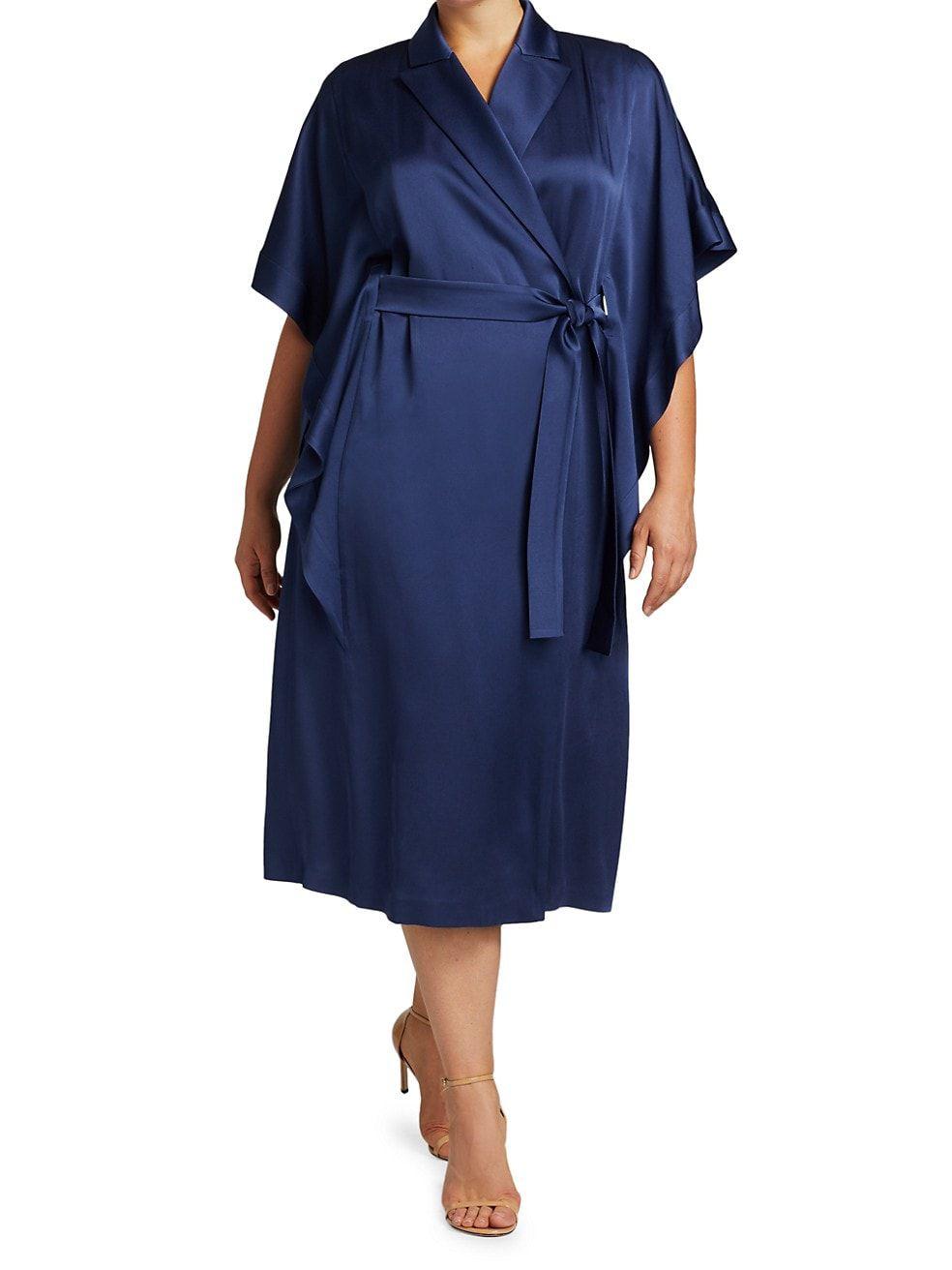Marina Rinaldi Plus Size Frisotino Wrap Dress, $1,545