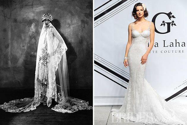 7 Decades Of Wedding Dresses And How To Wear These Vintage Gowns