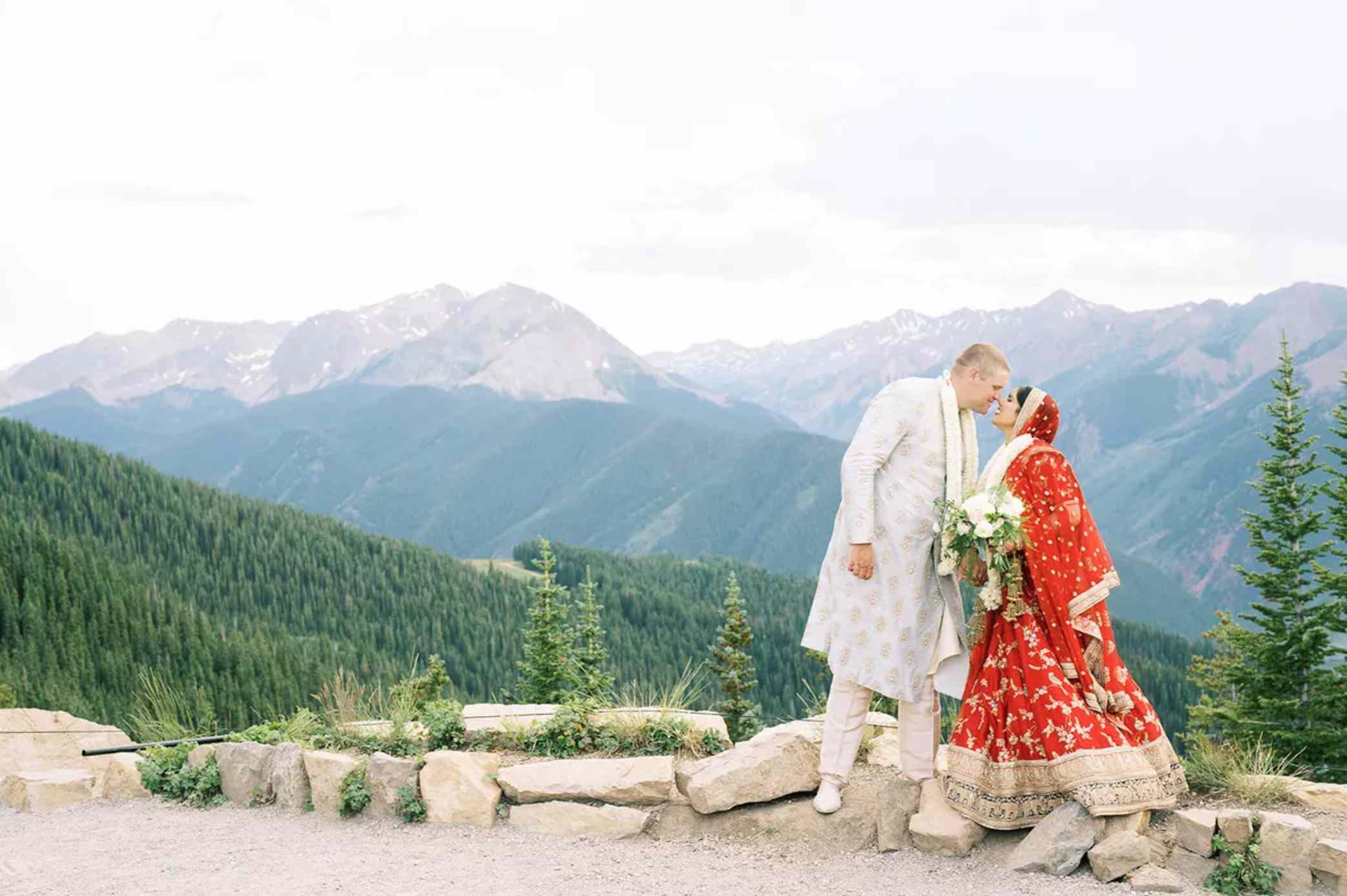 Newlyweds in Aspen