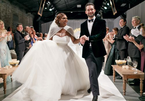 <p>Serena Williams and Alexis Ohanian's Wedding Ceremony</p>