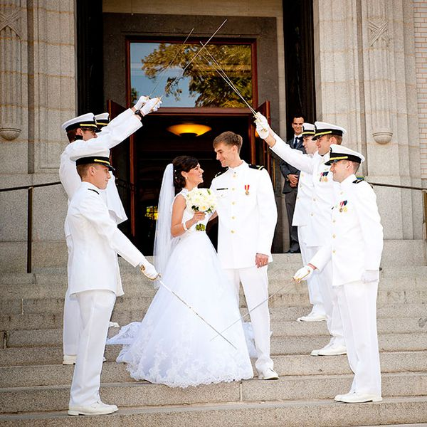 Military Weddings: The Rules & Etiquette You Should Know