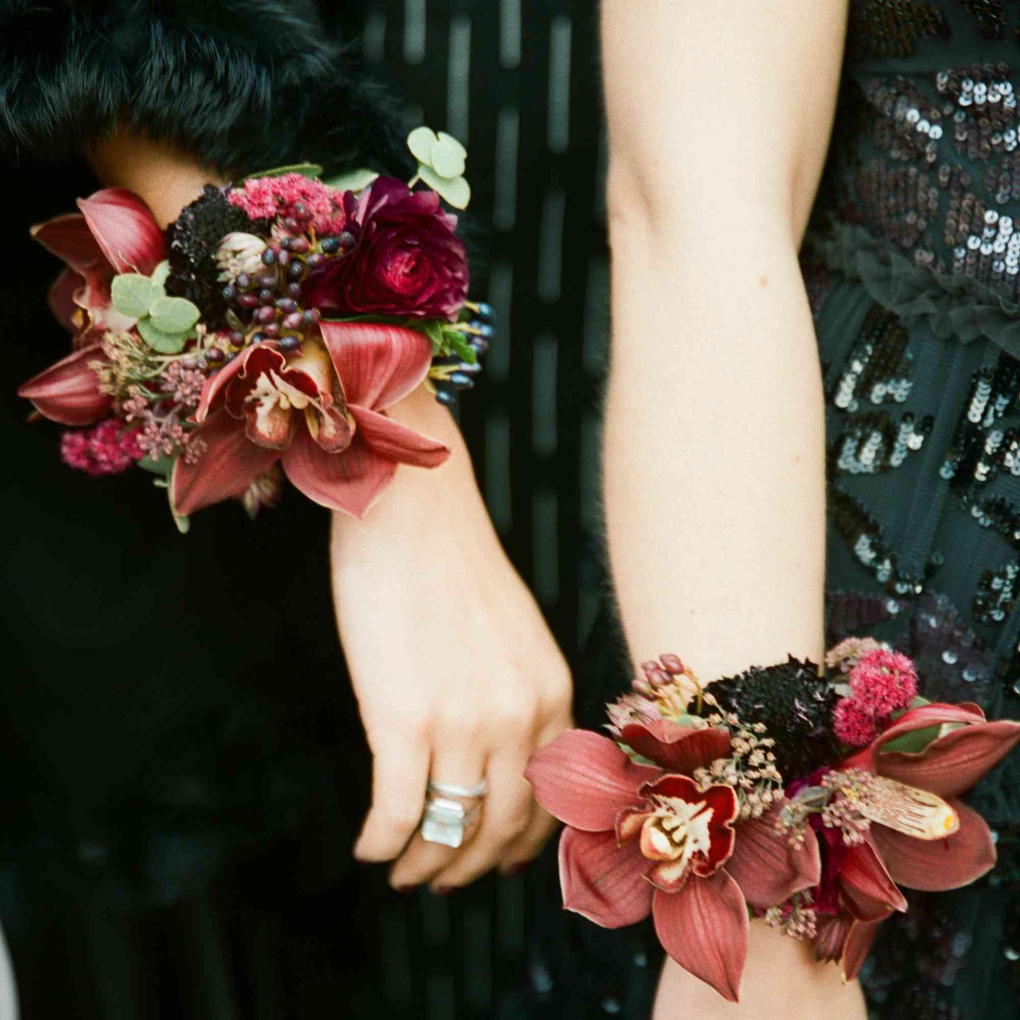 floral cuffs