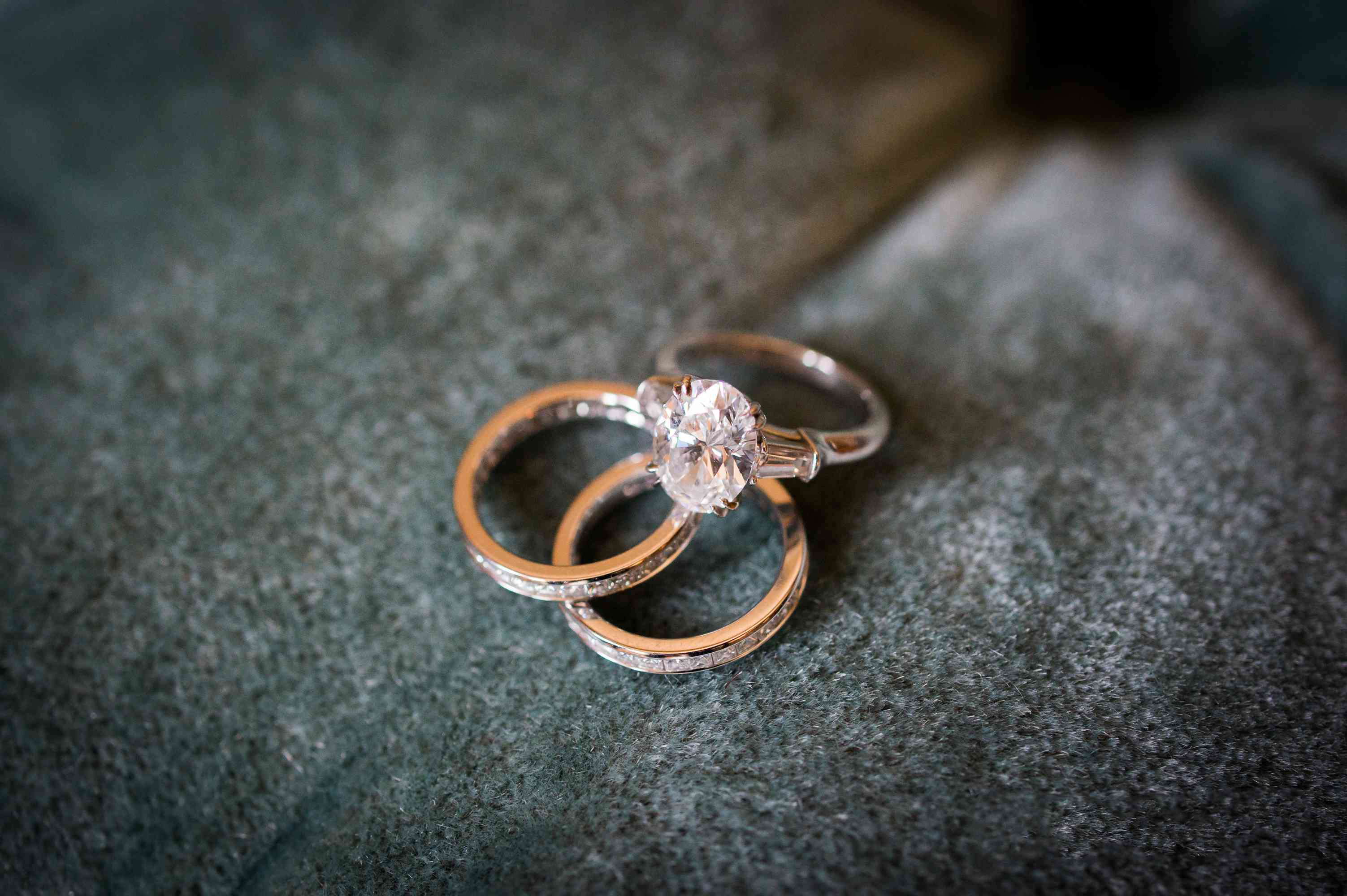 Oval-Cut Engagement Ring