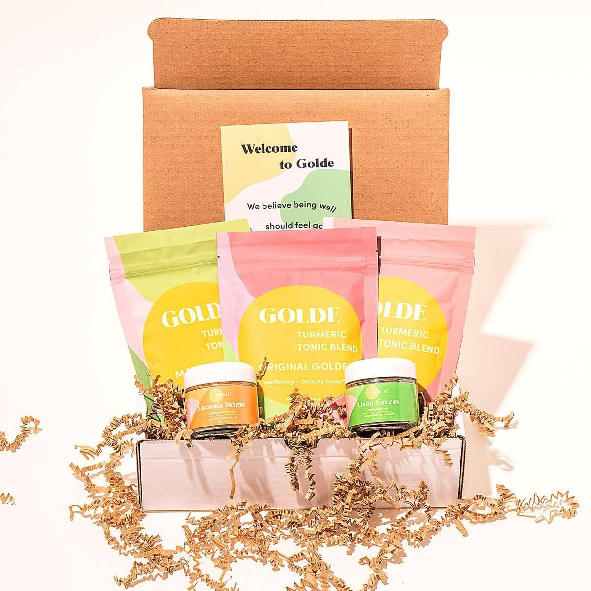 Golde Complete Beauty + Wellness Kit