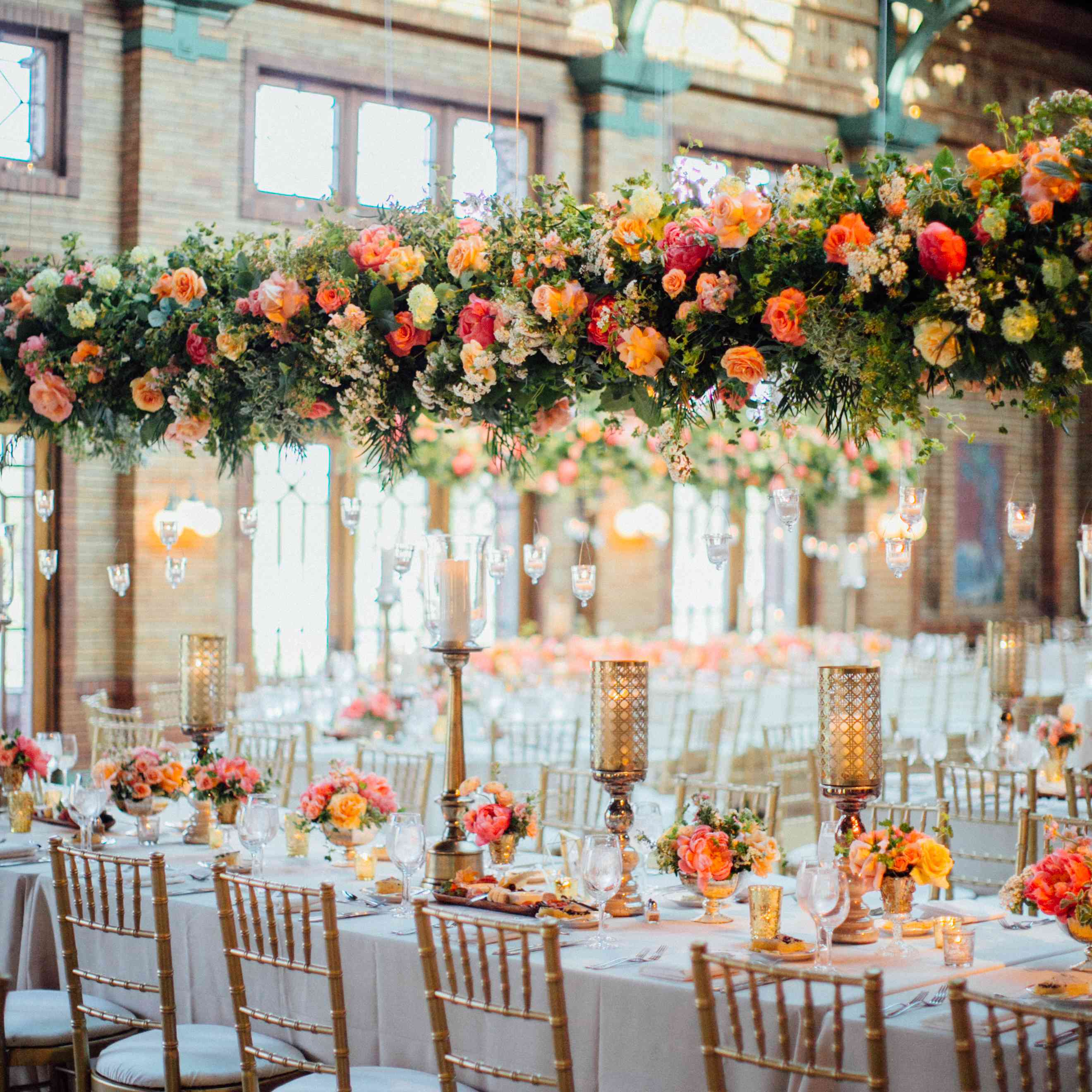 <p>Hanging Greenery and Flowers</p><br><br>