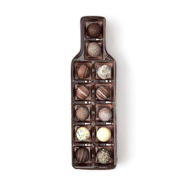 Uncommon Goods Bottle Of Wine Chocolate Truffles