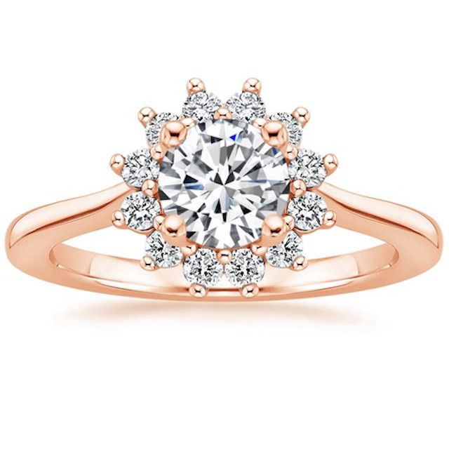 Brilliant Earth Sunburst Diamond Engagement Ring