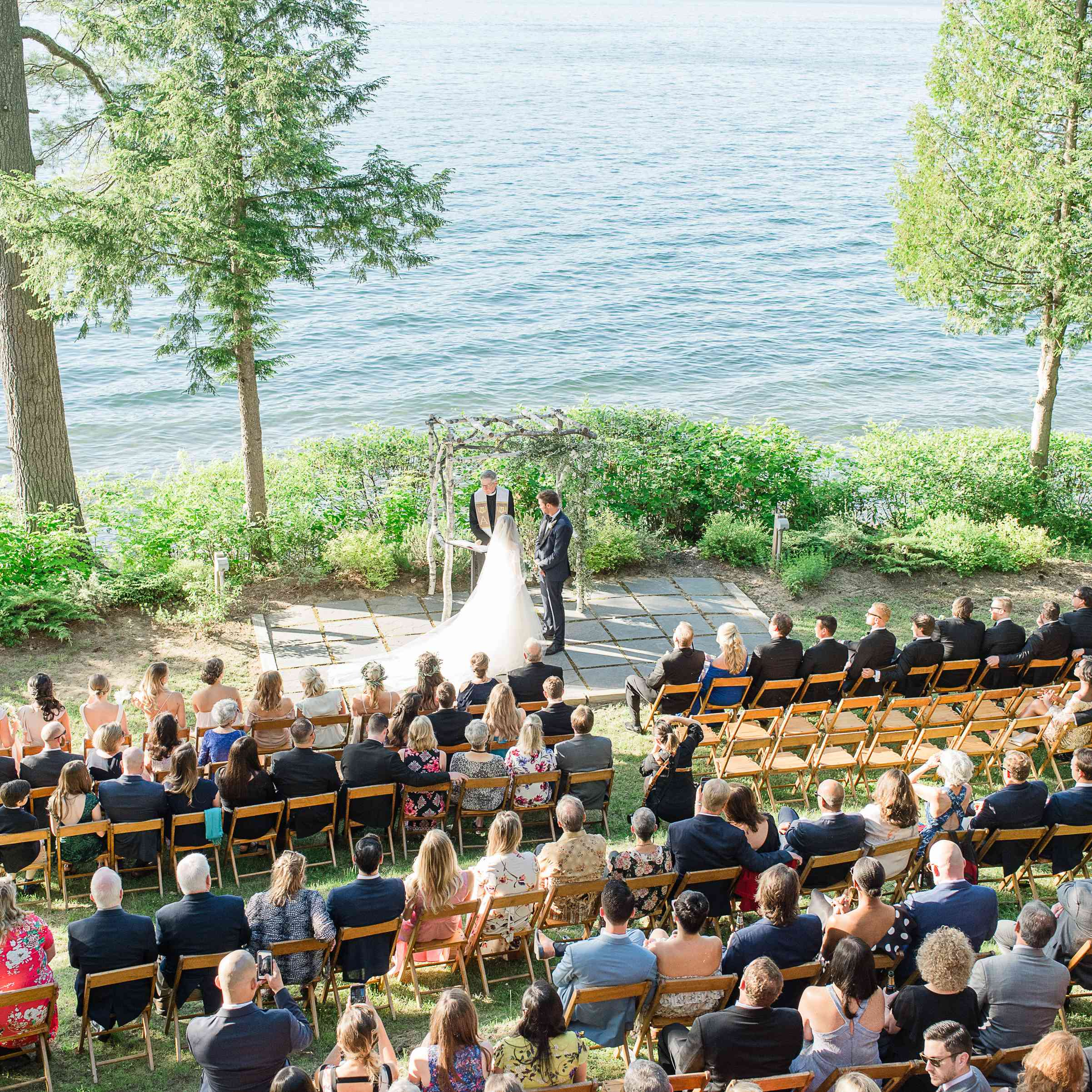 <p>Couple during ceremony</p><br><br>
