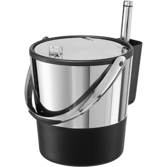 Oggi Double-Wall Stainless Steel Ice Bucket