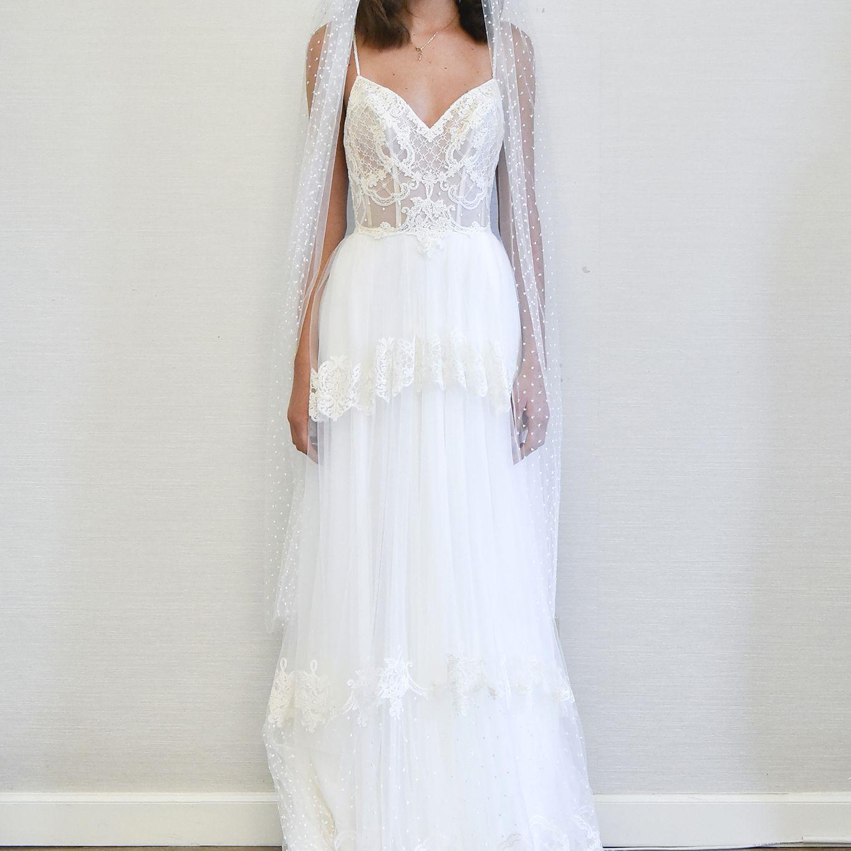 Gallery New Mira Zwillinger Wedding Dresses Spring 2019: Flora Bridal Spring 2018