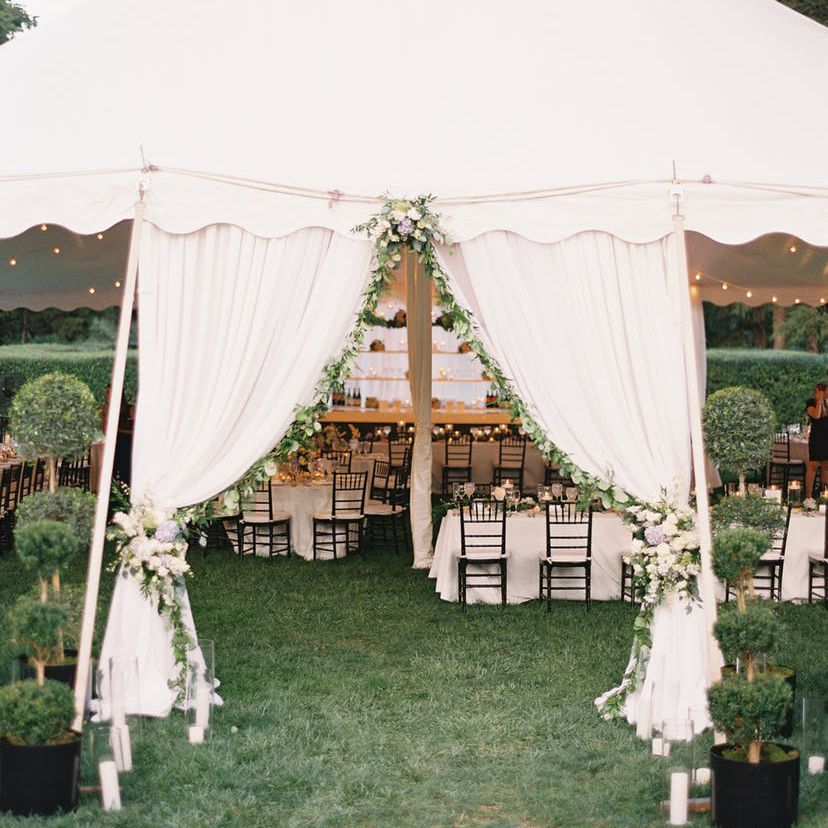 Outdoor Wedding Ideas For Fall On A Budget: 25 Backyard Wedding Ideas
