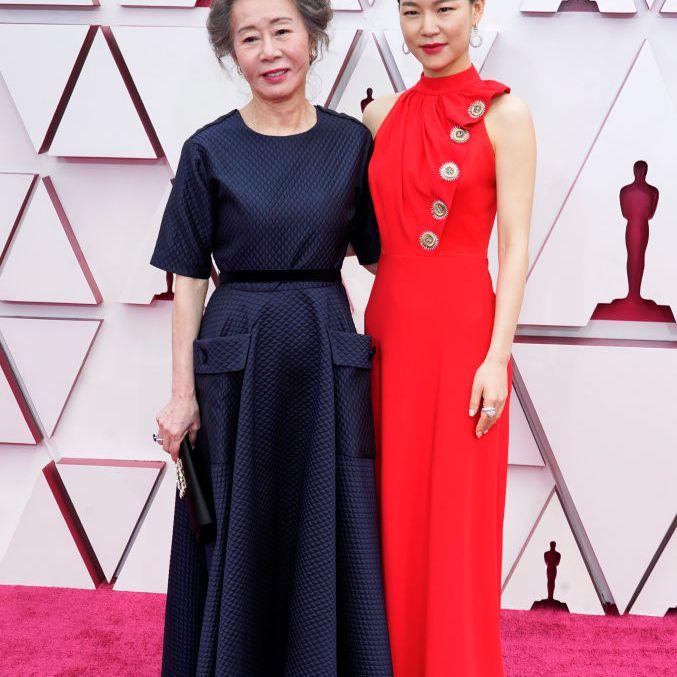 Youn Yuh-jung and Han Ye-ri