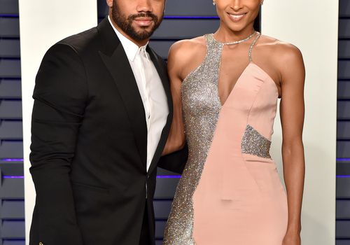 <p><p>Russell Wilson and Ciara attend the Vanity Fair Oscar party.</p></p>