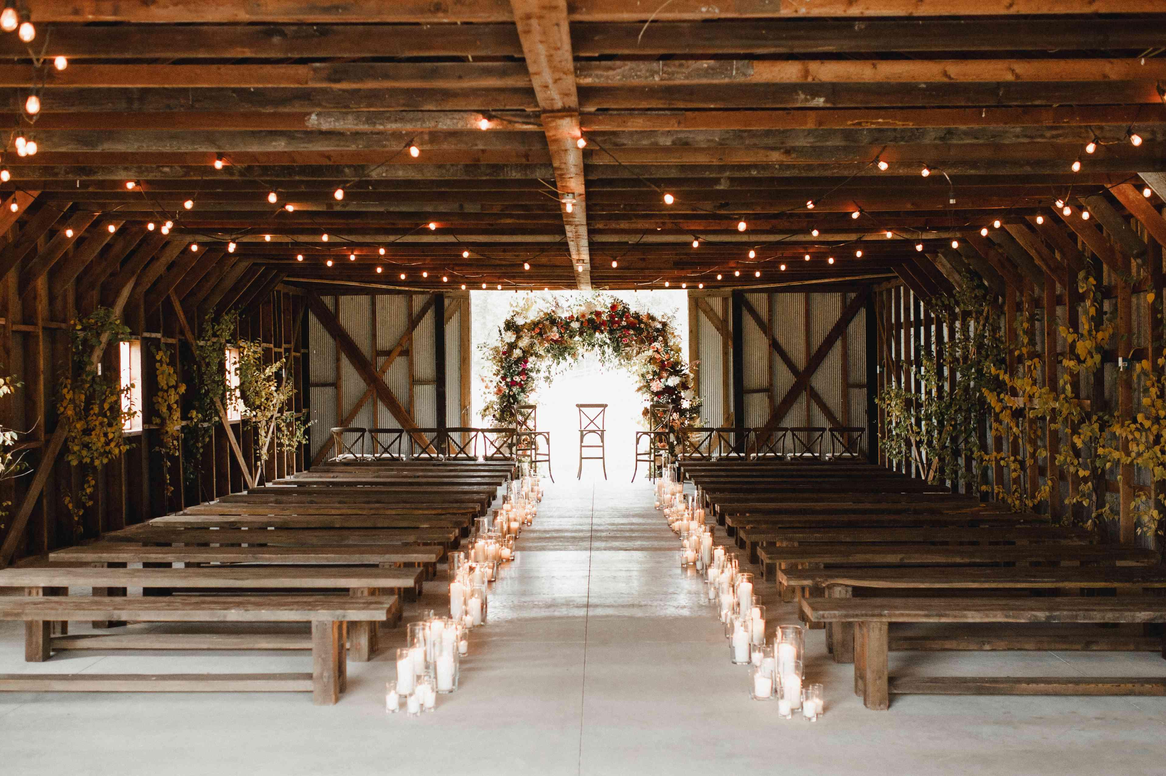 <p>ceremony setting</p>