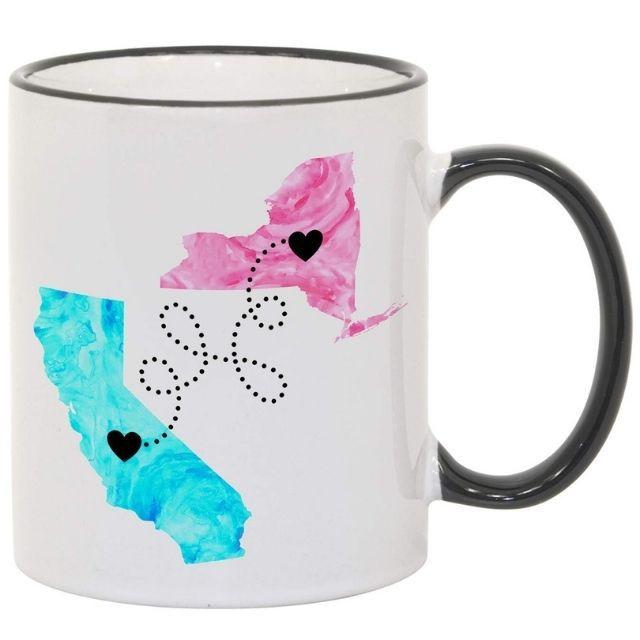 Amazon Long Distance Coffee Mug