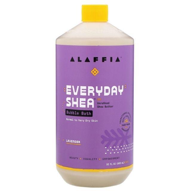 Alaffia EveryDay Shea Lavender Bubble Bath