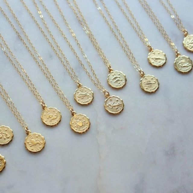 LaaLee Gold Zodiac Necklace