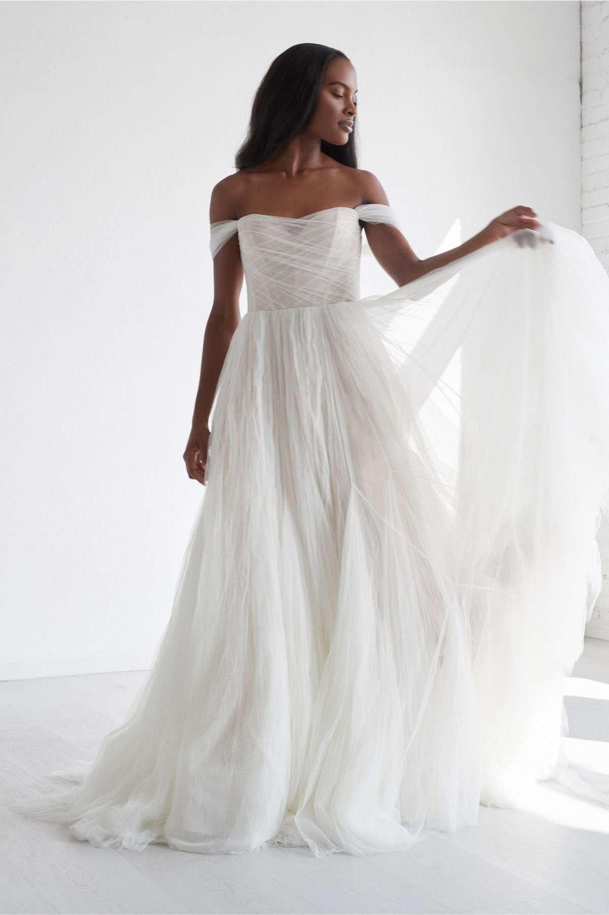 Watters Mist Wedding Dress