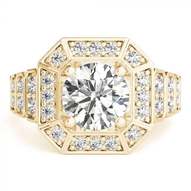 Clean Origin Frances Art Deco Ring