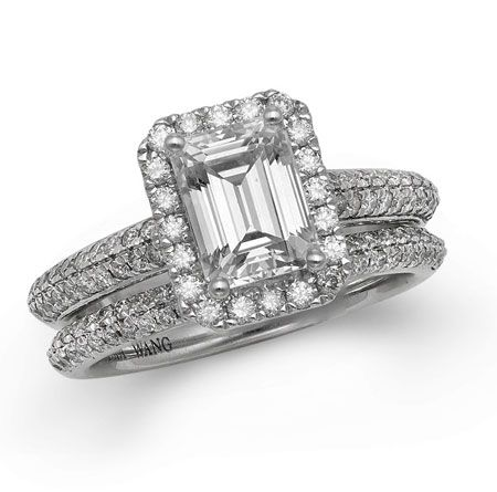 Vera Wang Wedding Rings.See The Seven Engagement Rings In Vera Wang S Brand New Boutique