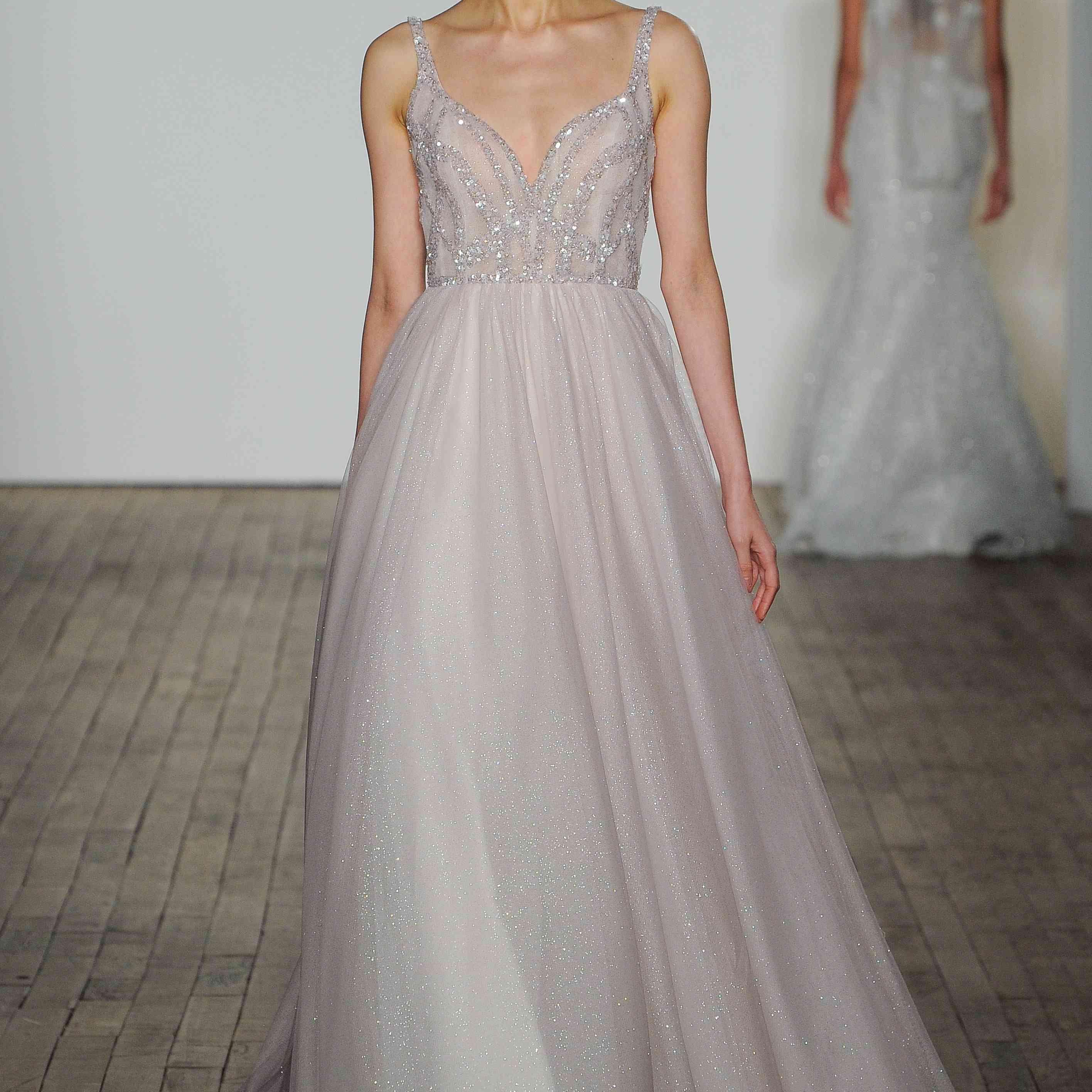 Stassi pink wedding dress