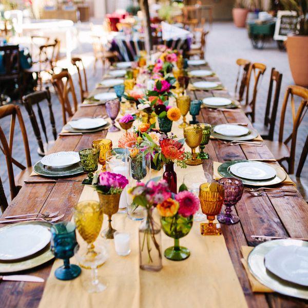 Red Wedding Ideas On A Budget: 25 Backyard Wedding Ideas