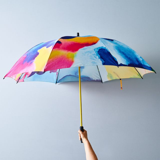 Basil Bangs Caddy Rain Umbrella (Botanical)